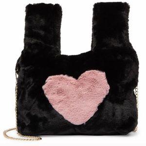 Pink Haley Bags - Faux Fur Arm Warmer/Holder Bag